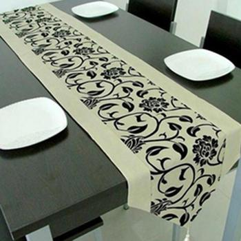 Fashion Accessories Flower Tablecloth Table Runner