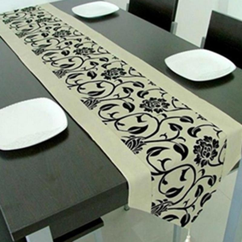 Fashion Accessories Flower Tablecloth Table Runner Tables Cloth Wedding Kitchen Utensils Christmas Xmas Home Decor Party Supplie