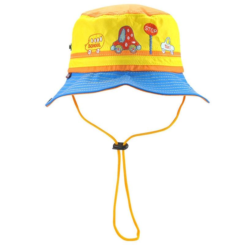 2019 Baby Kids Sunscreen Fisherman Cap Children Boys Sun
