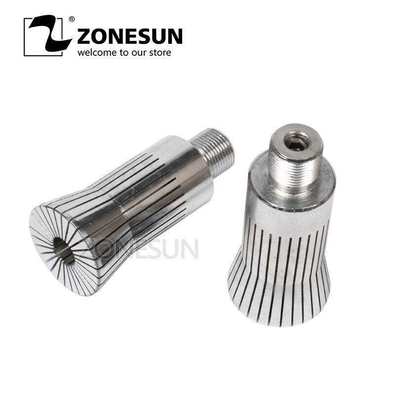 ZONESUN  capping head for new Perfume cap crimping machine capper  metal cap press machine capping machine