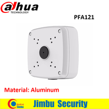Oroginal DAHUA IP bullet Camera Brackets Junction Box PFA121 CCTV Accessories Camera Mount Aluminum material