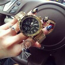 Mashali Reloj de pulsera de lujo para mujer, con diamantes de imitación, de cuarzo, 2017