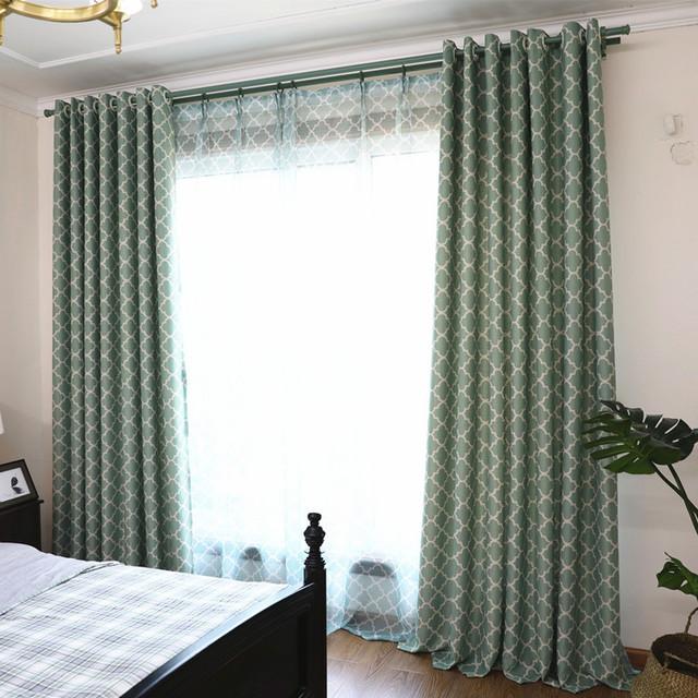 Elegant European Style Blackout Curtain