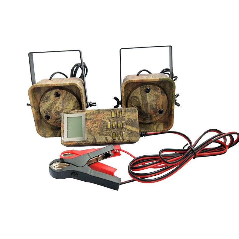 Leurre chasse Mp3 oiseau appelant sons lecteur intégré 200 oiseau voix chasse leurre 2 joueurs 50 W Animal appelant pour la chasse - 3