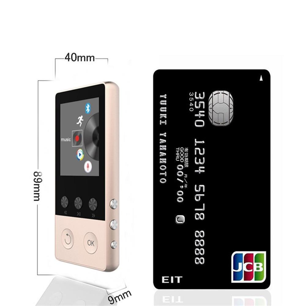 Bluetooth MP4 Player 8GB With 1.8 Inch Screen Can Play 80 hour with FM Radio Recorder Video E-Book Clock Data MP4 Music Player
