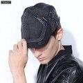 2016 Новое Прибытие Мода Берет Hat Casquette Cap Хлопок Шляпы Для И детские Козырьки Вс Gorras Planas Плоские Крышки регулируемая