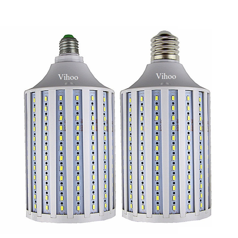 Lampada 40W 50W 60W 80W 100W LED Lamp E27 B22 E40 E26 110V 220V 5730SMD Corn Bulb Pendant Chandelier Ceiling Spot Lighting Light