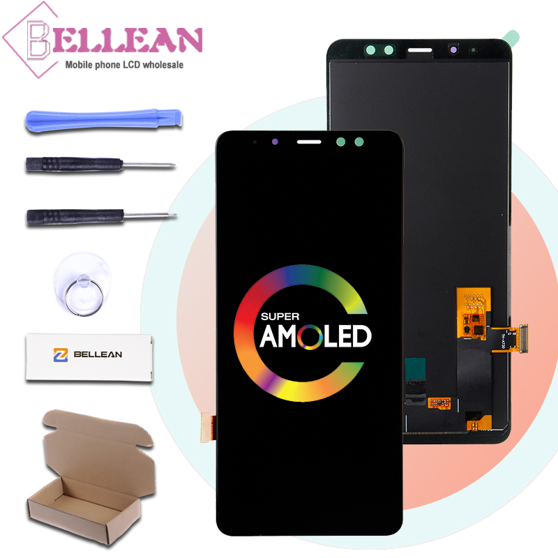 HH Promotion A8 LCD 2018 6.0 For Samsung Galaxy A730 Lcd Screen A8+ Duos A8 plus A730F Display Touch Screen Digitizer AssemblyHH Promotion A8 LCD 2018 6.0 For Samsung Galaxy A730 Lcd Screen A8+ Duos A8 plus A730F Display Touch Screen Digitizer Assembly