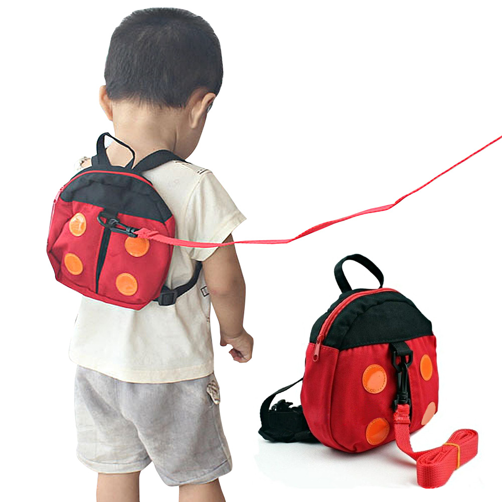 2in1 Ladybird Shaped Keeper Anti Lost Safety Harness Baby Backpack Walk Harness LXX9  противоскользящие полоски safety walk цвет серый 6 шт