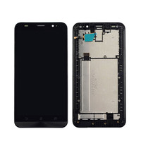 Sinbeda AAAA 5.5LCD Display For ASUS Zenfone 2 ZE551ML LCD Tela +Touch Screen Digitizer Assembly With Frame+Free Tempered Glass