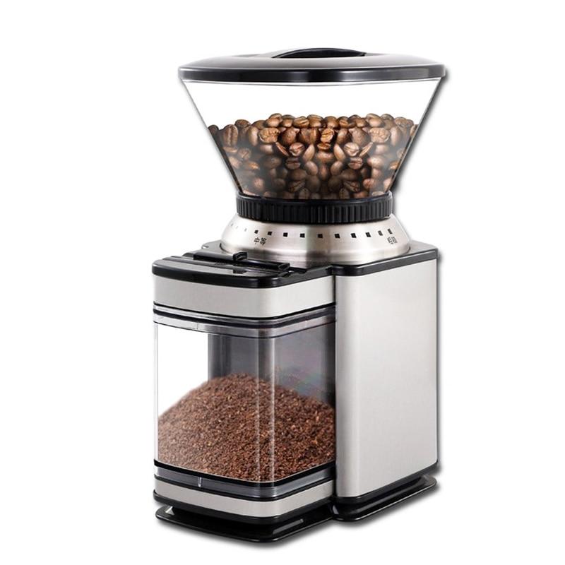 Moulin à café électrique 350g moulin à café automatique Machine de meulage de grain de café domestique XFK-B96