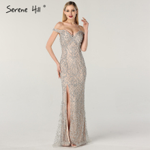 Silver Mermaid Evening Dresses 2019 Serene Hill