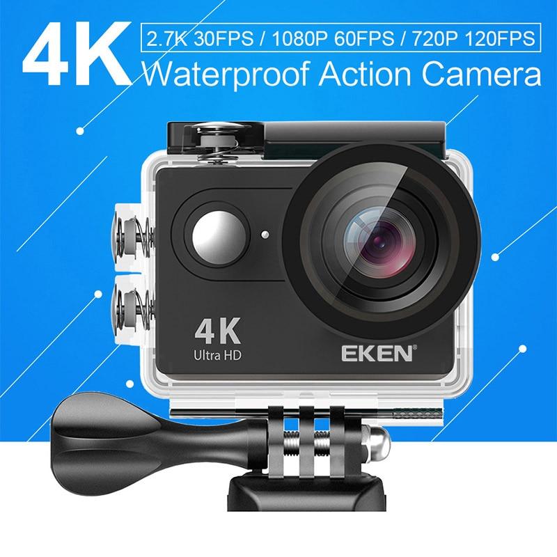EKEN H9 H9R Ultra FHD 4 K 25FPS Wifi Camera Action 30 M étanche 1080 p 60fps sous-marine aller À Distance extreme pro sport cam
