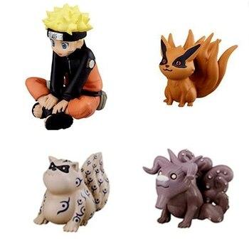 1 pcs Cartoon Anime Naruto Action Figures Psychic Beast Kurama Kyuubi Bijuu PVC Model Kid Toy