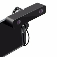 ELP Black Aluminum Micro Mini 720P Usb Camera 3D VR Video Camera With Wide Angle100 Degree