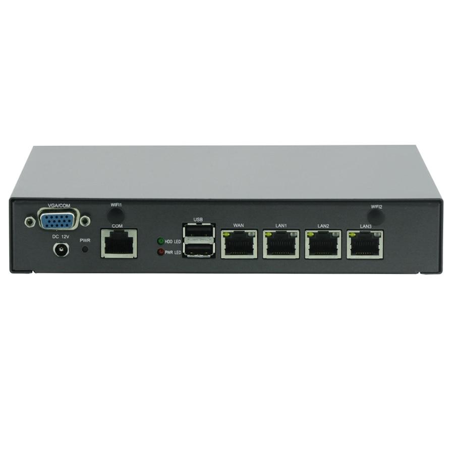 Mini PC Celeron J1900 Quad Core font b Network b font Security Control Desktop Firewall Router