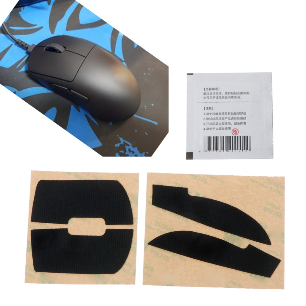 1 Pack Original Hotline Games Mouse Skates Side Stickers Sweat Resistant Pads Anti-slip Tape For Logitech G Pro Wireless Mouse