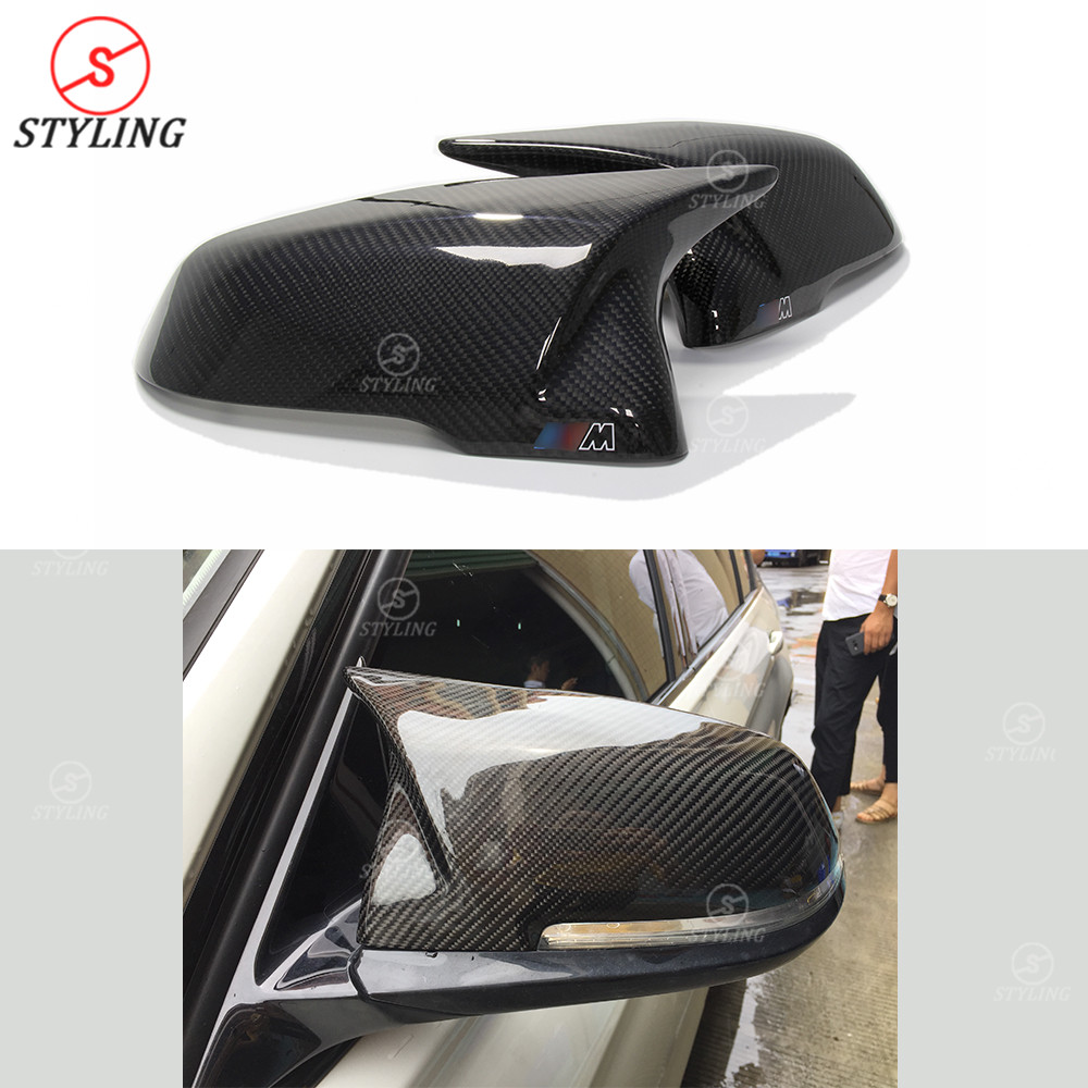 F45 F48 Carbon Mirror Cover For BMW F46 X1 F49 X2 F39 2 Series Touring Rear