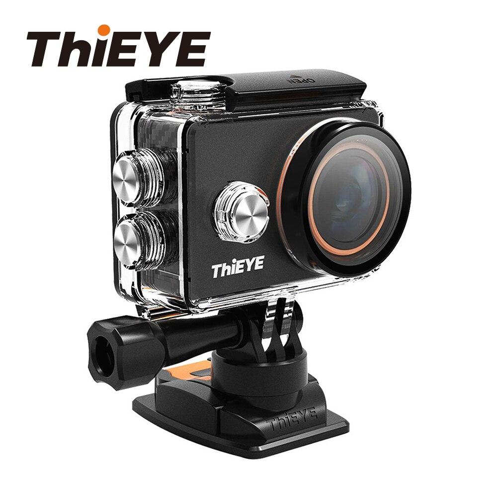 Caméra d'action WiFi ThiEYE V6 4 K avec filtres et conception métallique caméra de sport sous-marine Mini caméra Go Pro casque Cam