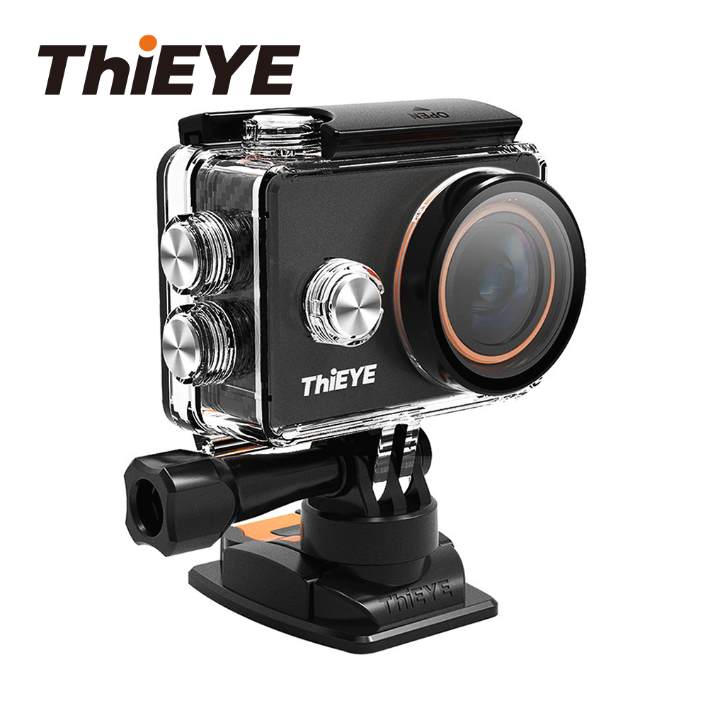 ThiEYE V6 4K WiFi Action Camera with Filters and Metallic Design Underwater Spor