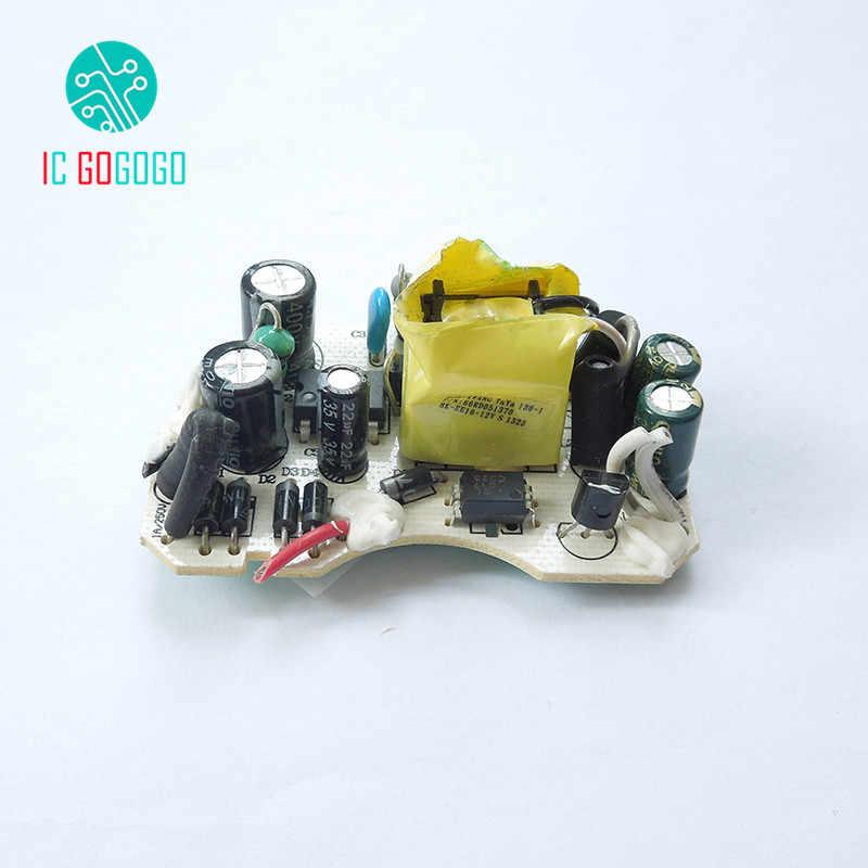 2pcs AC-DC 12V 1A Switching Power Supply Circuit Board Switch DC Voltage  Regulator Module For Monitor LED Stage Lights 1000MA