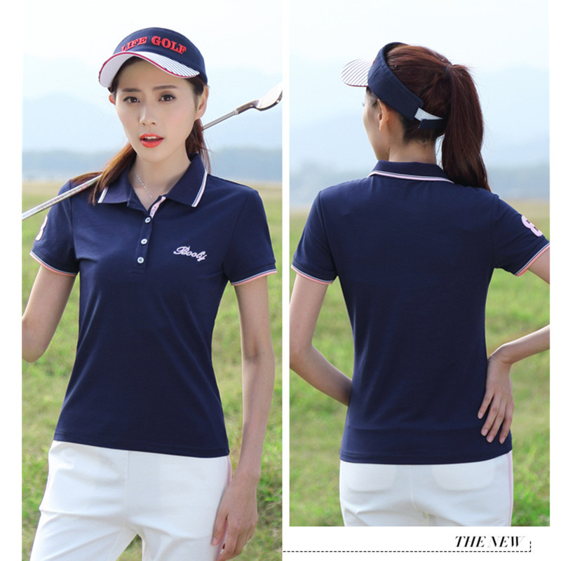 2018 New Womens Summer Polo Shirts Ladies Casual Plus Size Cotton Polo Women Solid Short Sleeve POLOS White Red Blue PQ337