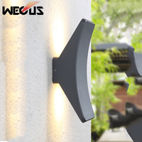 LED Outdoor wall lamp double exterior wall up and down lighting outdoor double wall lamp durable and modern