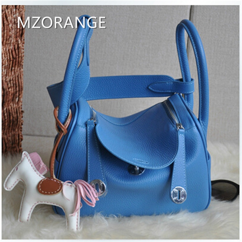 MZORANGE 2018 New Casual genuine leather women handbags Fashion brand Lady shoulder bags nineteen color Candy Tote crossbody bag 2017 new classic casual scrub tote lady genuine leather handbags popular women fashion shoulder bags easy matching bolsas qn027