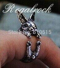 ФОТО fashion triangle chain harness ring bracelet