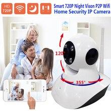 X-HONG IPC05 дома безопасности IP Камера Wi-Fi беспроводного видеонаблюдения Камера 720 P HD с подкладкой голос датчик движения ночного видения su P P ОРТ SD карты