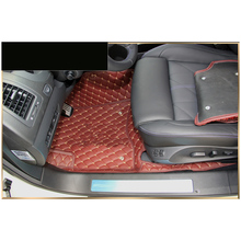 lsrtw2017 leather car floor mat for infiniti qx70 fx30d fx35 fx37 fx50 2008-2019 2018 2017 2016 2015 2014 2013 accessories