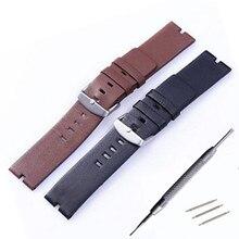 22mm New Mens Genuine Leather Watchbands Bracelet for Moto 360 Smart Watch Band Moto360 + Spring Bar + Tool все цены