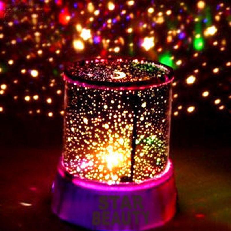 LED Night Light Projector Starry Sky Star Master Projection Lamp Children Kids Baby Sleep Romantic Led Projection Lamp Light