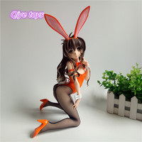 30cm Yuuki Mikan Sexy Adult Action Figures To Love ru Sexy Pregnant Stockings Bunny Girl Figures Collection Model Toys
