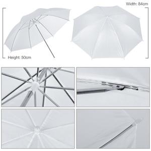 Image 4 - Equipamentos De Iluminação De Fotografia profissional Kit com Lâmpadas Softbox Guarda chuva Suave estande fundo Backdrops Photo Studio