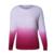 Camisola das mulheres 2016 Novo Chegada de Moda Pullovers Patchwork Manga Comprida O Pescoço Solto Blusas De Malha De Alta Qualidade