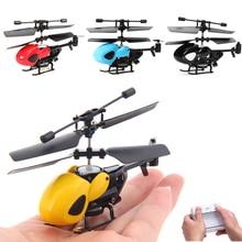 Mini Dron Infrarouge 2.5CH RC Helicopter Copter aeromodelo Télécommande Helicoptero Jouets Pour Enfants