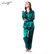 5210fd6ea6a Plus size M-5XL Women Silk Satin Pajamas Pyjamas Set Sleepwear Long Sleeve  Pyjamas   Lace Cute Cami Top and Shorts Pijama