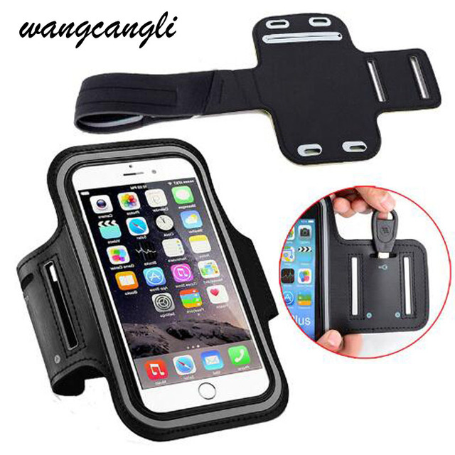 info for 9f252 d5f75 US $1.41 25% OFF|Waterproof Gym Sports Running Armband for iPhone 8 7 4 5  5S 5C SE 6 6s 8 Plus Phone Case Cover Holder Armband Case for iPhone 7-in  ...