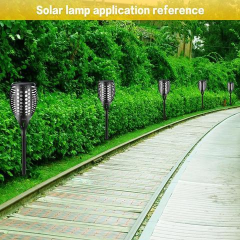 lampada de chama solar cintilacao ip65 a