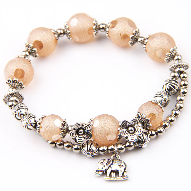 item full vintage bracelet elephant set to and napier charm click pink earrings expand