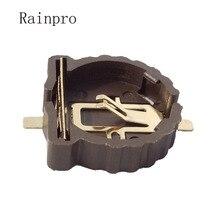 Rainpro 10 шт./лот BS 1220 2 CR1220 CR1225 3V держатель батарейного отсека с золотым покрытием