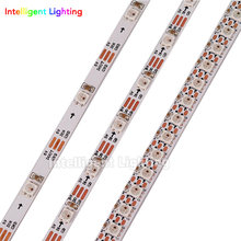 1m/2m SK6812 SMD 3535/5050 RGB pixel strip 30/60/144 leds/m build-in SK6812 IC 4mm/5mm/7.2mm width, White PCB IP30 DC5V(China)
