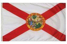 Johnin 90x150cm eua estados unidos da américa bandeira da flórida