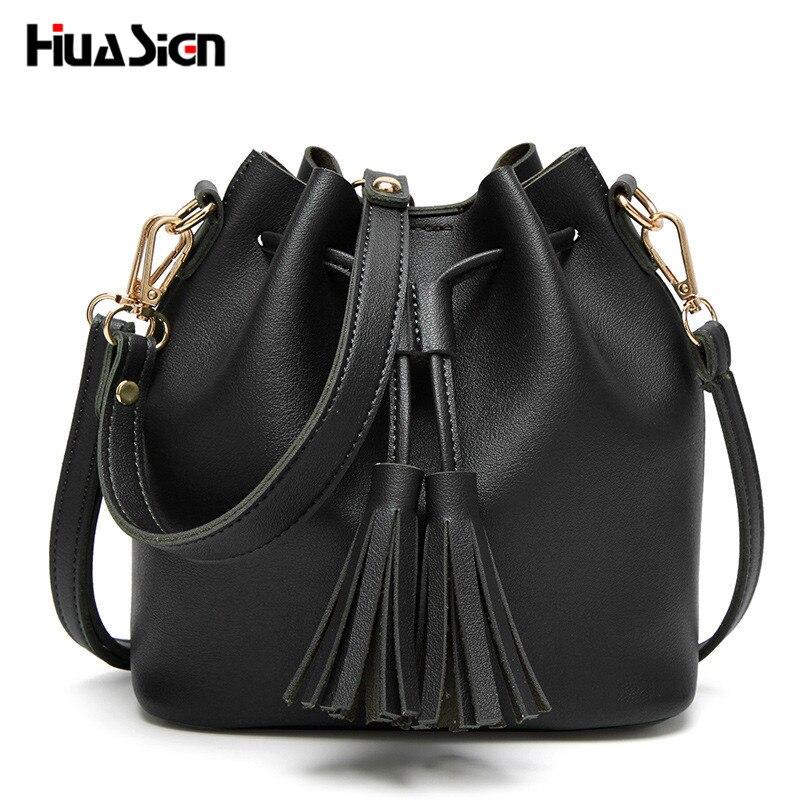 huasign borla couro pu bolsa Number OF Alças/straps : Único