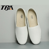 TBA Sport Shoes Woman Women S Sneakers Genuine Leather Slip On Rubber Plus Size Wedge Sneakers