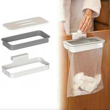 Trash Bag Storage Rack Cupboard Kitchen Bathroom Hanging Holders Trash Toys Kitchen Accessories Supplies Food Containers Kitchen(China)