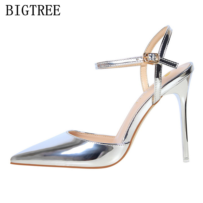 designer red high heels bigtree shoes women wedding shoes mary jane pumps escarpins femme ladies luxury brand sexy sandals women gold lace pumps women mary jane shoes crystal pearl studded sandals red black pink ladies strange high heels wedding shoes