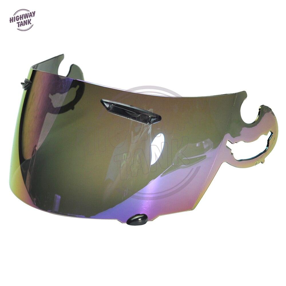 1 PCS Iridium Motorcycle Full Face Helmet Visor Lens Case for ARAI RR4 Visor Mask