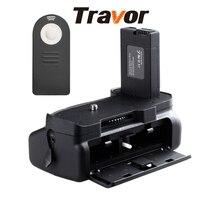 Skilled Battery Grip for Nikon D5300 D5200 D5100 DSLR Cameras with Infrared Distant Management